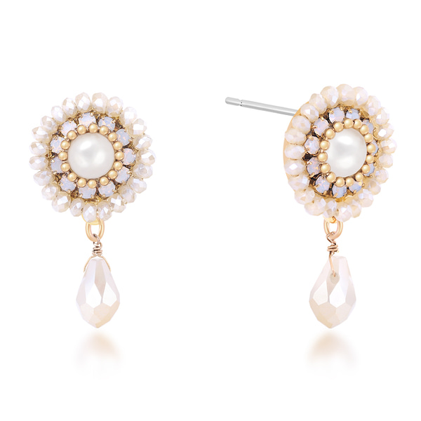 [아티카]Queen of the palace antique elaborate Earrings