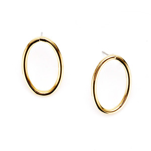 [밀튼아티카]like a natural ellipse basic Earrings
