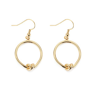 [밀튼아티카]like a natural Twist round Earrings