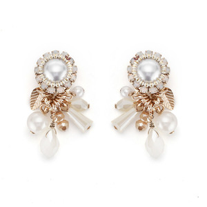 [밀튼아티카]Queen of the palace antique pearl&Various other Earrings