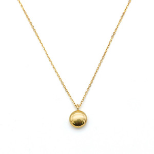 [밀튼아티카]like a natural Shiny ball Silver Necklace[925silver]